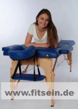 Massageliege - blau