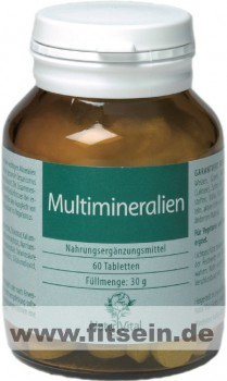 Multimineralien - 60 Tabletten