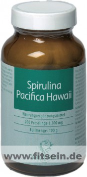 Spirulina Pacifica Hawaii - 200 Tabletten