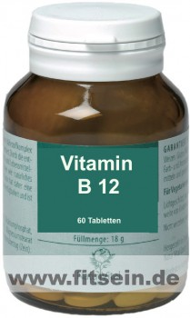 Vitamin B12-SL - 60 Tabletten